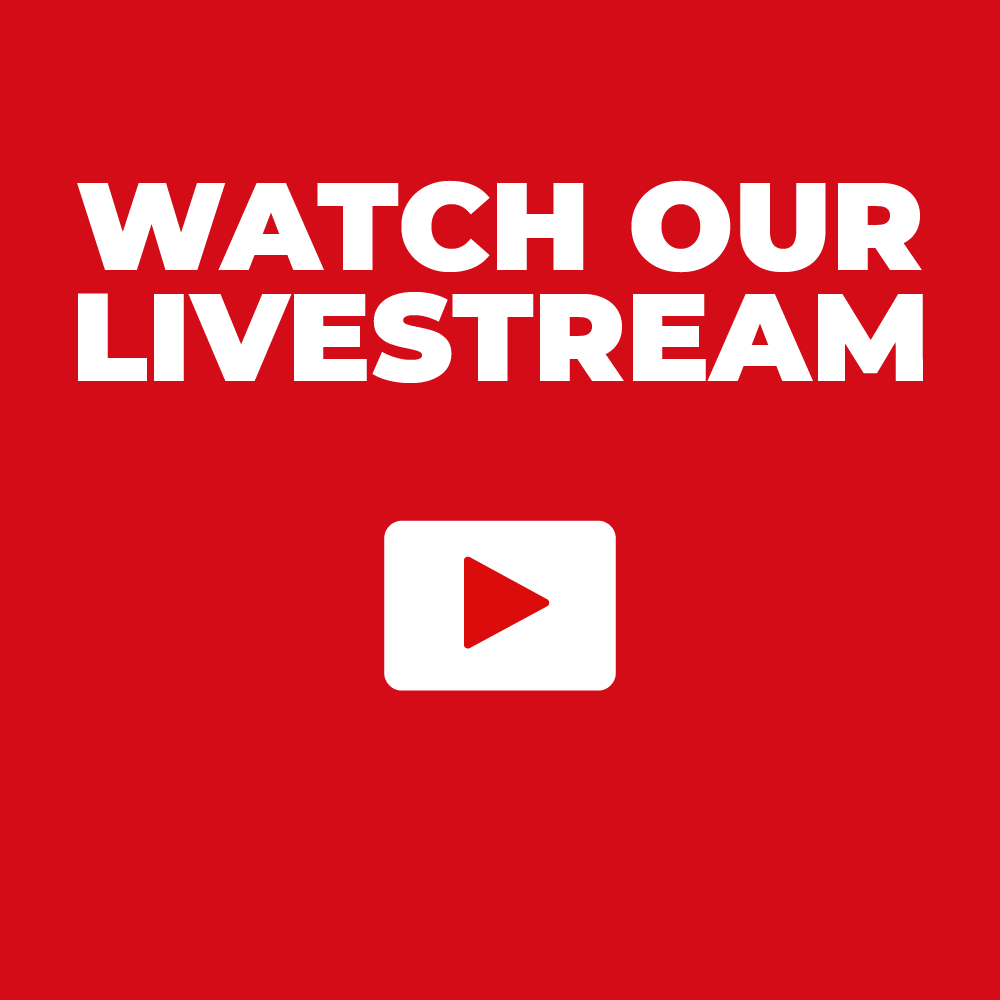 Watch our services on Youtube